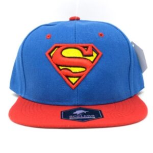 Gorra Ajustable Azul con Rojo Superman