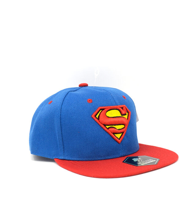 Gorra Ajustable Azul con Rojo Superman 02