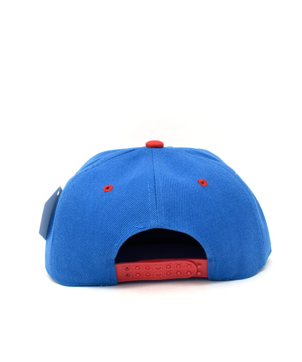 Gorra Ajustable Azul con Rojo Superman 03